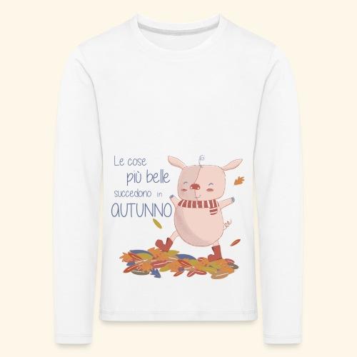 Autumn - Kids' Premium Longsleeve Shirt