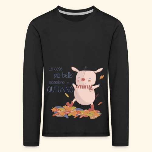 Autumn - Kids' Premium Longsleeve Shirt