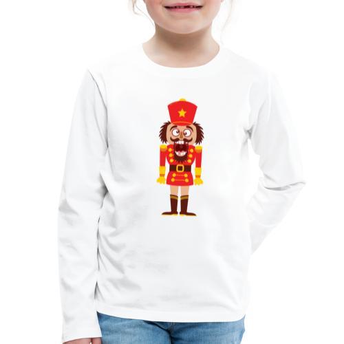 A Christmas nutcracker is a tooth cracker - Kids' Premium Longsleeve Shirt