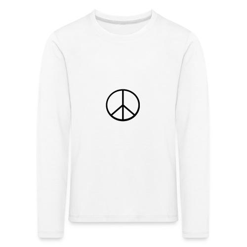 peace - Långärmad premium-T-shirt barn