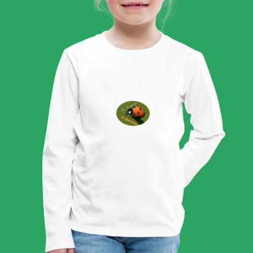 la scienza di Giacomo logo giusto tondo PNG - Maglietta Premium a manica lunga per bambini