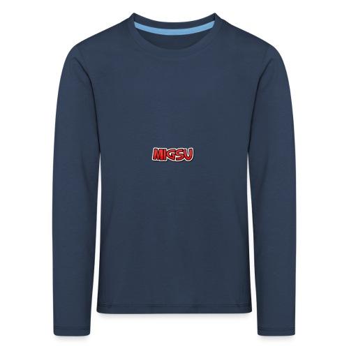 RAndom migsu paita - Lasten premium pitkähihainen t-paita