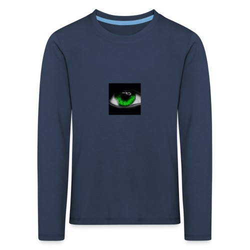 Green eye - Kids' Premium Longsleeve Shirt