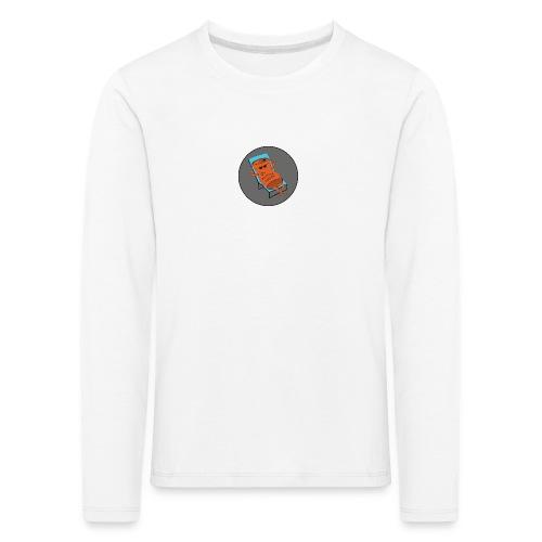 Festivalpodden - Loggan - Långärmad premium-T-shirt barn