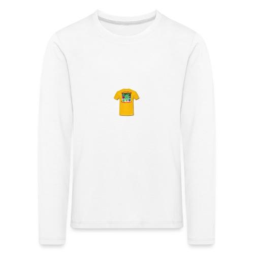 Castle design - Børne premium T-shirt med lange ærmer