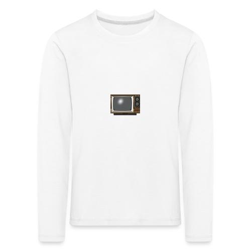 la télé - T-shirt manches longues Premium Enfant