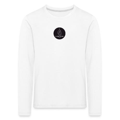Logo Notte dei falo 3 - Maglietta Premium a manica lunga per bambini