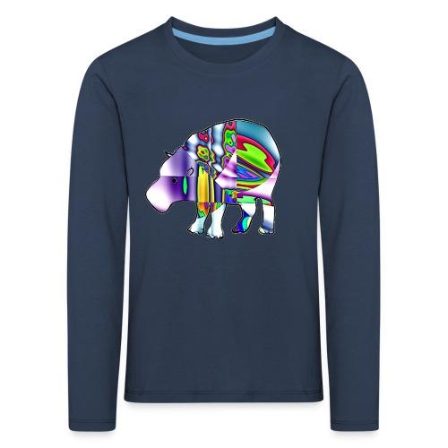 hippopotame - T-shirt manches longues Premium Enfant