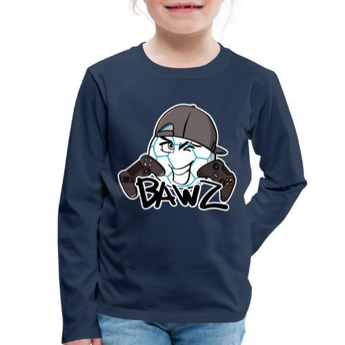 bawz voetbal - Kinderen Premium shirt met lange mouwen