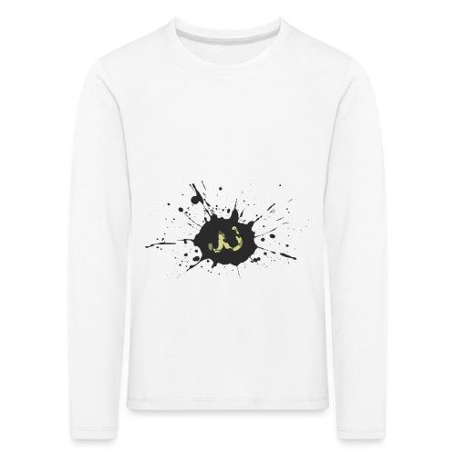 JU spray logo - Lasten premium pitkähihainen t-paita