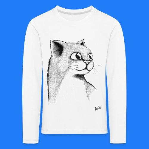 CAT HEAD by AGILL - T-shirt manches longues Premium Enfant