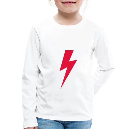 Błyskawica polannd ppro choice women rights - Koszulka dziecięca Premium z długim rękawem