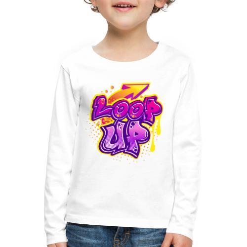 LOOP UP - Kinder Premium Langarmshirt