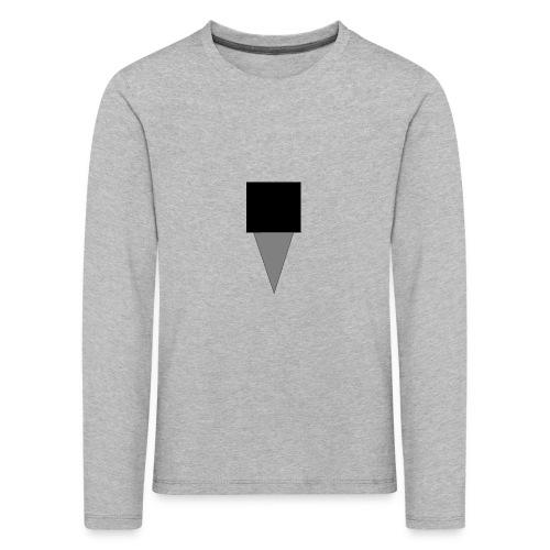 Mystery Mike Hat - Kids' Premium Longsleeve Shirt