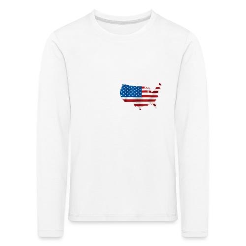 AMERICAN - T-shirt manches longues Premium Enfant