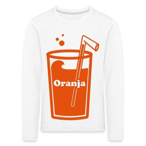 Oranja - Kinderen Premium shirt met lange mouwen