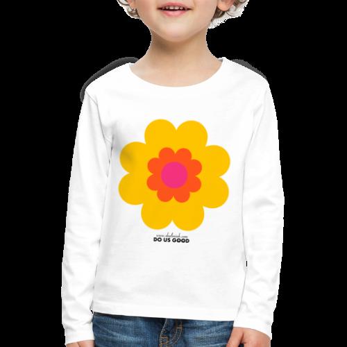 BIG SUNSHINE - Lasten premium pitkähihainen t-paita