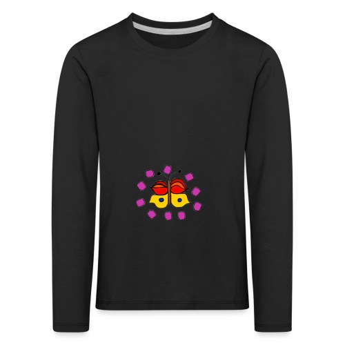 Butterfly colorful - Kids' Premium Longsleeve Shirt