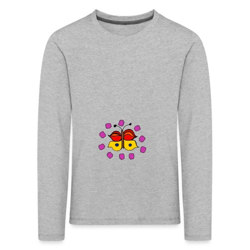 Butterfly colorful - Kids' Premium Longsleeve Shirt