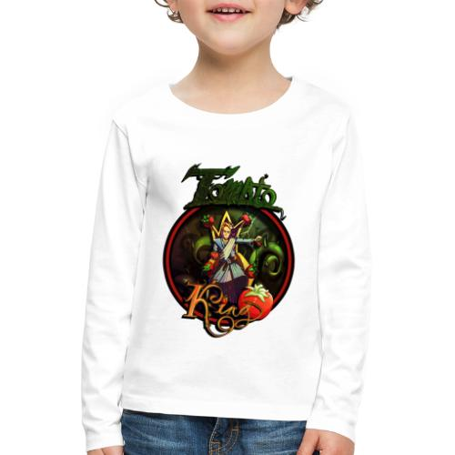 Tomato King - Långärmad premium-T-shirt barn