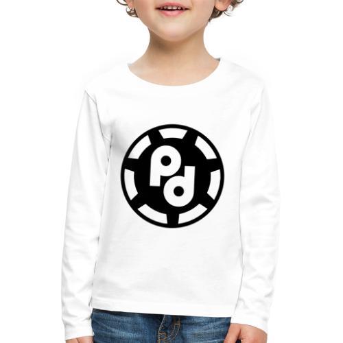 PaffnerDesign-Logo - Kids' Premium Longsleeve Shirt