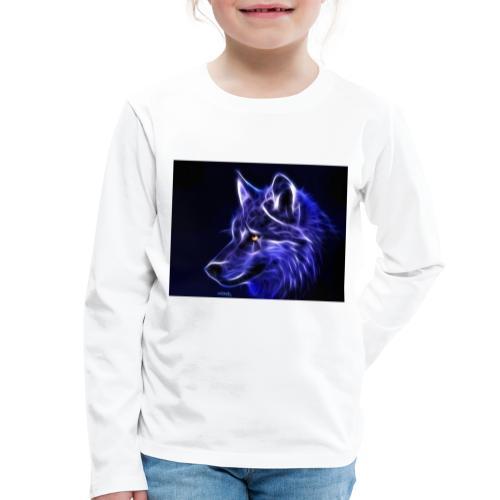 jeff wolf - Premium langermet T-skjorte for barn