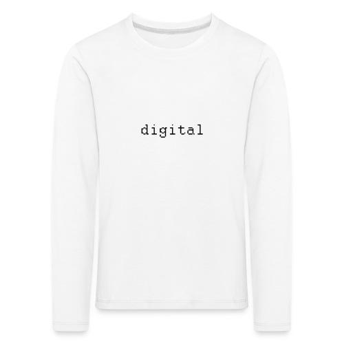 digital - T-shirt manches longues Premium Enfant