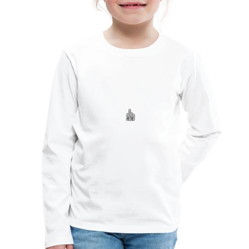2020 - Mittelfinger Virus - Kinder Premium Langarmshirt