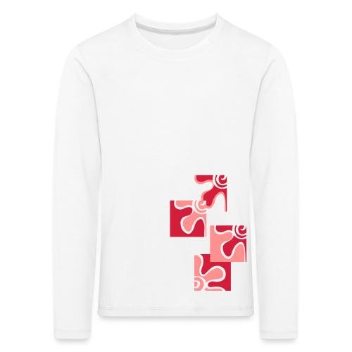decoflo - Maglietta Premium a manica lunga per bambini