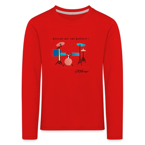 Azia Drum - Kids' Premium Longsleeve Shirt