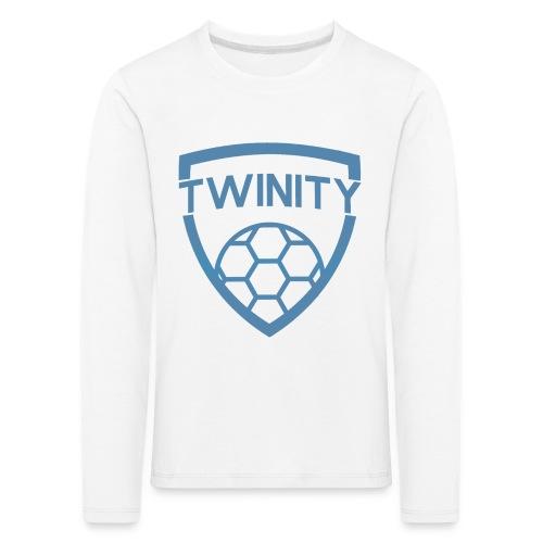 LOGO PNG BLAUW 2 png - Kids' Premium Longsleeve Shirt