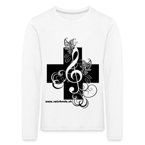 Swiss Beatz Logo non L - Kinder Premium Langarmshirt