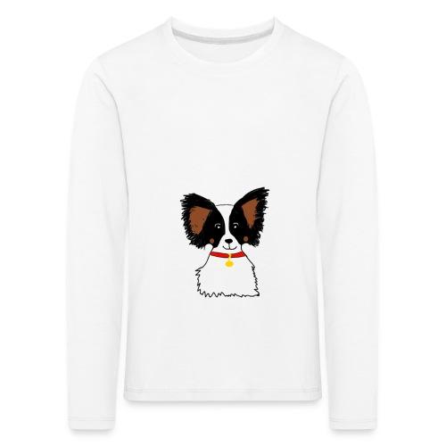 Papillon dog - Kids' Premium Longsleeve Shirt