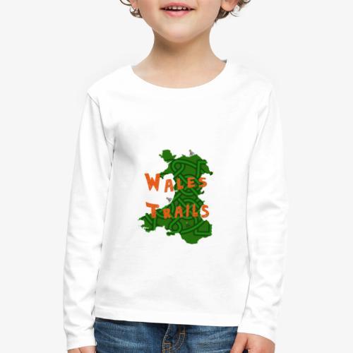 Wales Trails - Kids' Premium Longsleeve Shirt
