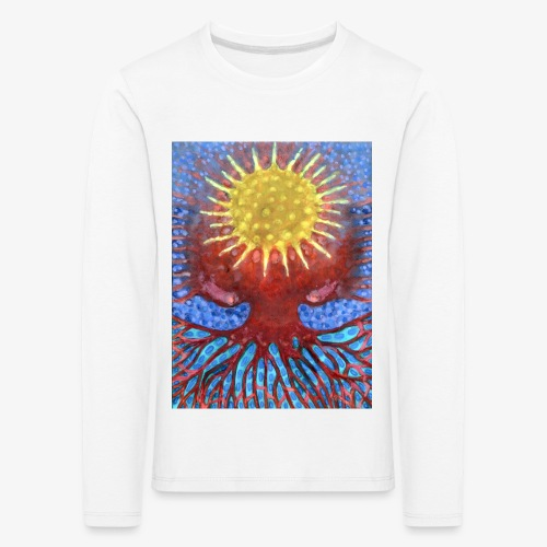 Niebiańskie Drzewo - Koszulka dziecięca Premium z długim rękawem