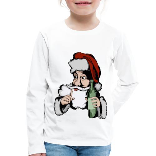 Père Noël Arrive - Santa is coming - T-shirt manches longues Premium Enfant