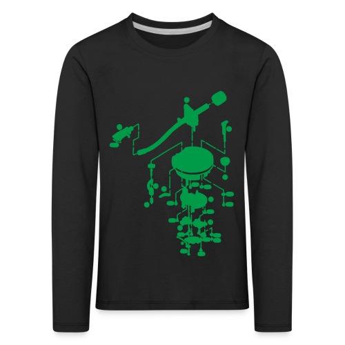 tonearm05 - Kinderen Premium shirt met lange mouwen