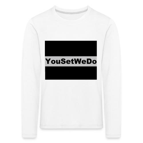 logo for case - Kids' Premium Longsleeve Shirt