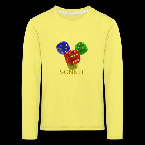 Sonnit Dice - Kids' Premium Longsleeve Shirt