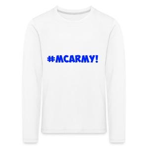 ABMC #MCARMY! - Kids' Premium Longsleeve Shirt