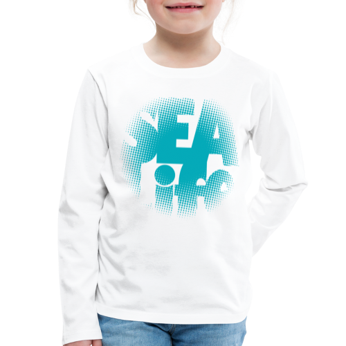 Sealife surfing tees, clothes and gifts FP24R01A - Lasten premium pitkähihainen t-paita