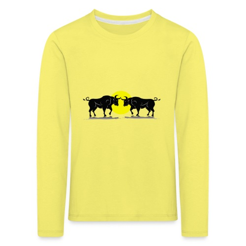 Taurus Bull - Kids' Premium Longsleeve Shirt