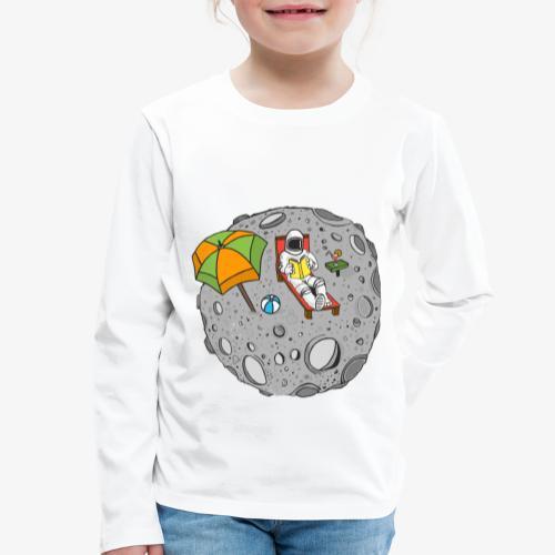 To the Moon - T-shirt manches longues Premium Enfant