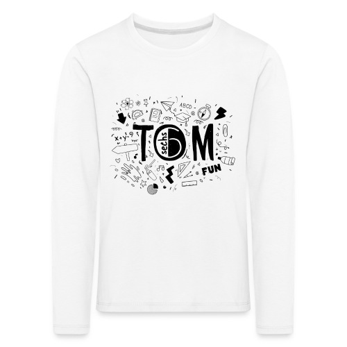 Tom goes to school - Kinder Premium Langarmshirt