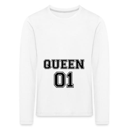 Queen 01 - T-shirt manches longues Premium Enfant