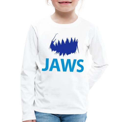 Jaws Dangerous T-Shirt - Kids' Premium Longsleeve Shirt