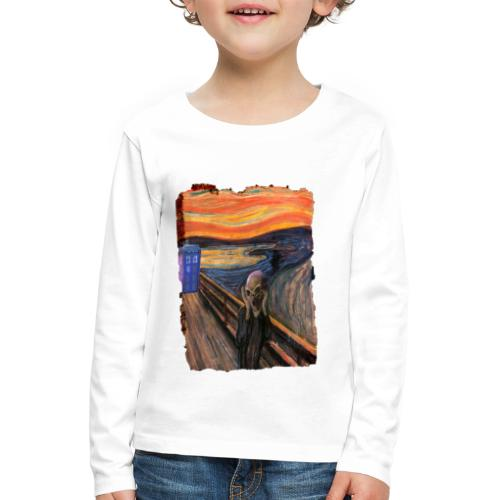 Screaming Tardis - Kids' Premium Longsleeve Shirt