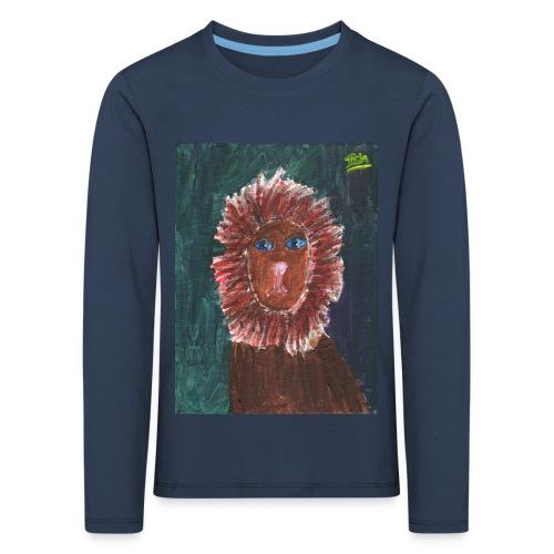 Lion T-Shirt By Isla - Kids' Premium Longsleeve Shirt