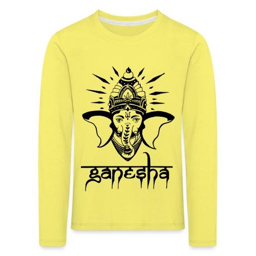 Ganesha - Kinder Premium Langarmshirt