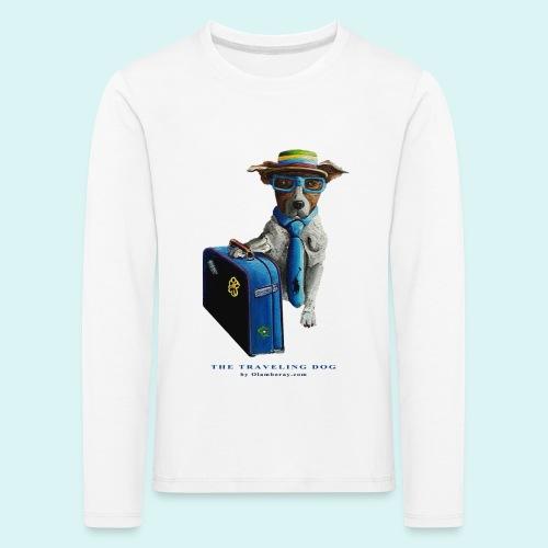 The Traveling Dog - Kids' Premium Longsleeve Shirt